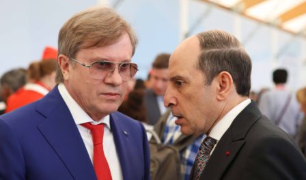ceo of aeroflot and ceo of qatar airways