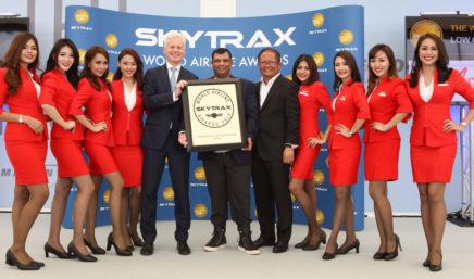 亚洲航空在2016年全球航空公司奖中大获成功