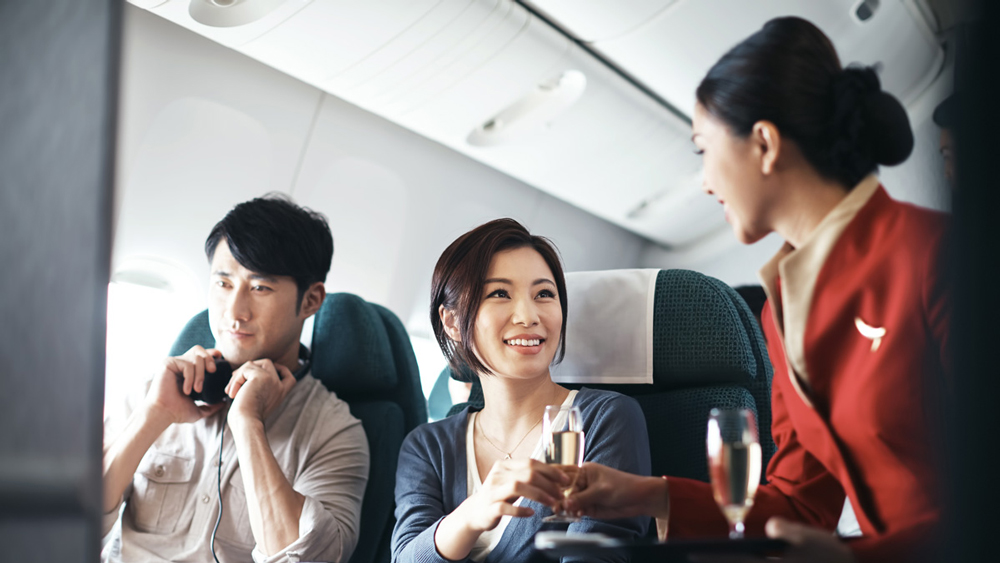 国泰航空客舱服务