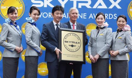 全日空航空为全球最佳机场服务