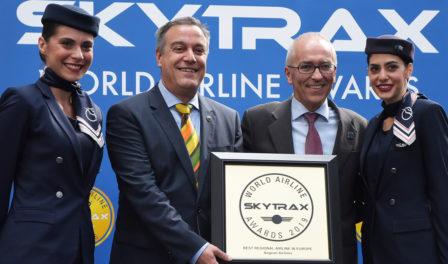 爱琴海航空为欧洲最佳区域性航空公司