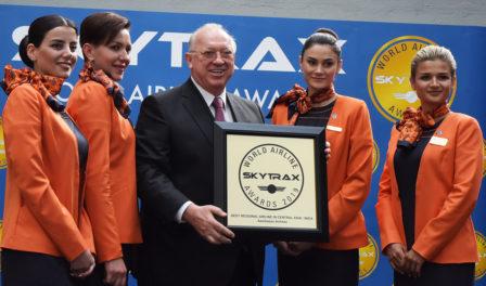 阿塞拜疆航空为中亚与印度最佳区域性航空公司