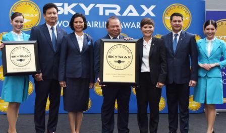 曼谷航空为全球最佳区域性航空公司