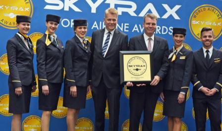 汉莎航空为欧洲最佳航空公司
