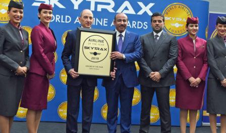 卡塔尔航空为2019年度航空公司