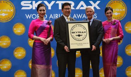 泰国航空为全球最佳航空公司候机室水疗