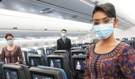 新加坡航空公司 2021 年全球最佳机组人员