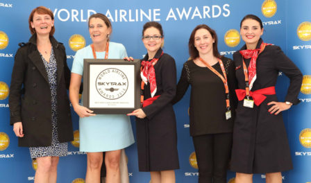 air france en los world airline awards 2016