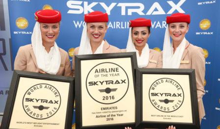 aerolínea del año en 2016