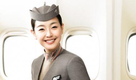 asiana cabin crew member