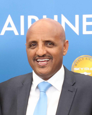 ceo de ethiopian airlines