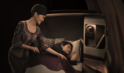 clase business de singapore airlines