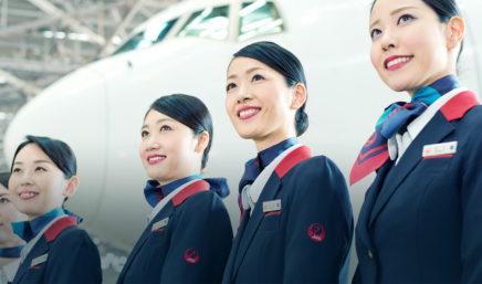 personal de japan airlines