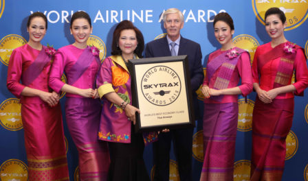 usanee sangsinkeo presidenta de thai airways