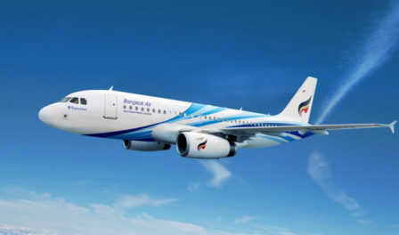 avión de bangkok airways