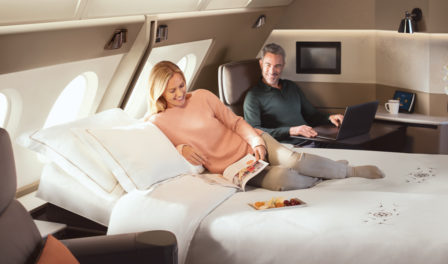 singapore airlines a380 new first class suites