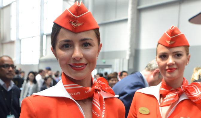 tripulación de cabina de aeroflot