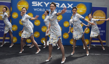 tripulación de cabina de hainan airlines