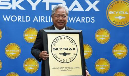 philippine airlines aerolínea con mayor mejora del mundo