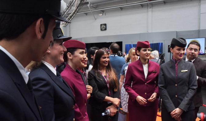 el equipo de qatar en los premios