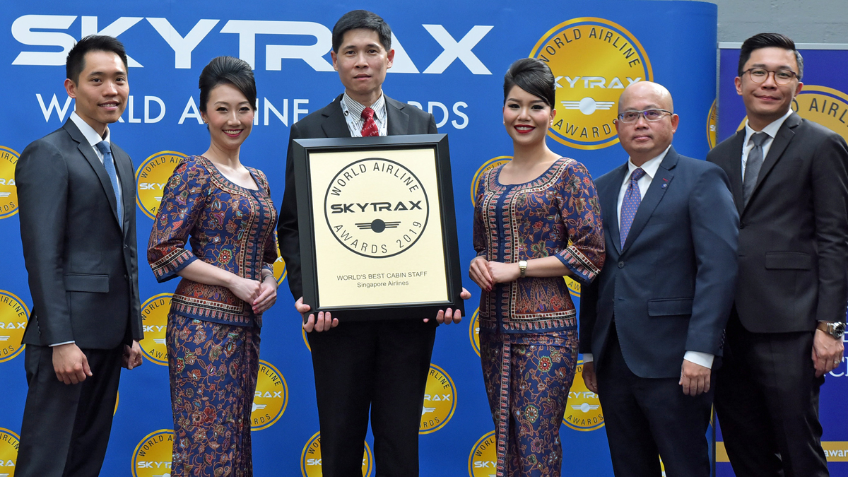 Galería de fotos de los World Airline Awards | SKYTRAX