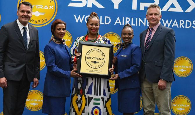 south african airways mejor personal de aerolínea de áfrica
