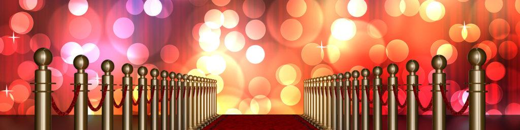 ceremonia de premios con alfombra roja