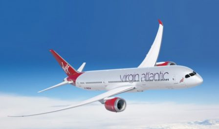 avión de virgin atlantic