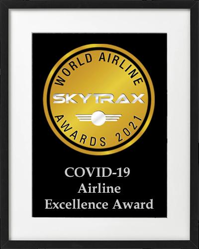 premio a la excelencia de la aerolínea covid-19