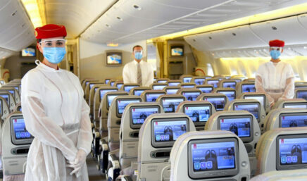 personal de cabina de emirates