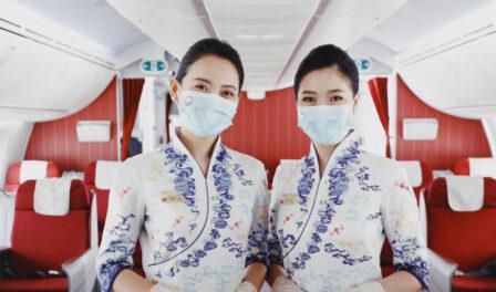 personal de cabina de hainan airlines