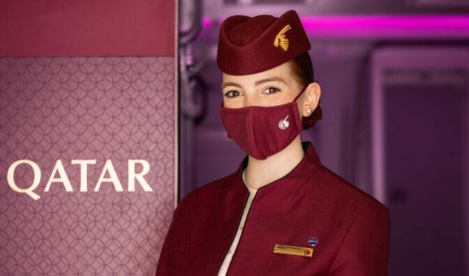 personal de cabina de qatar airways