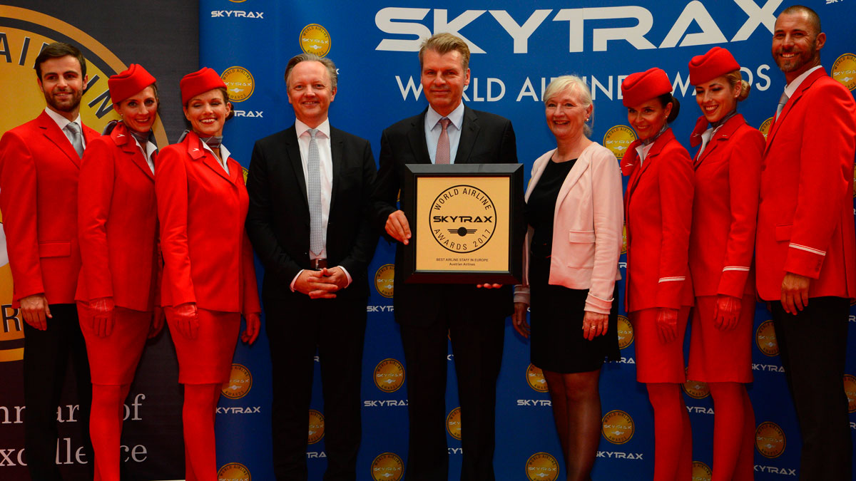 best airline staff europe 2017
