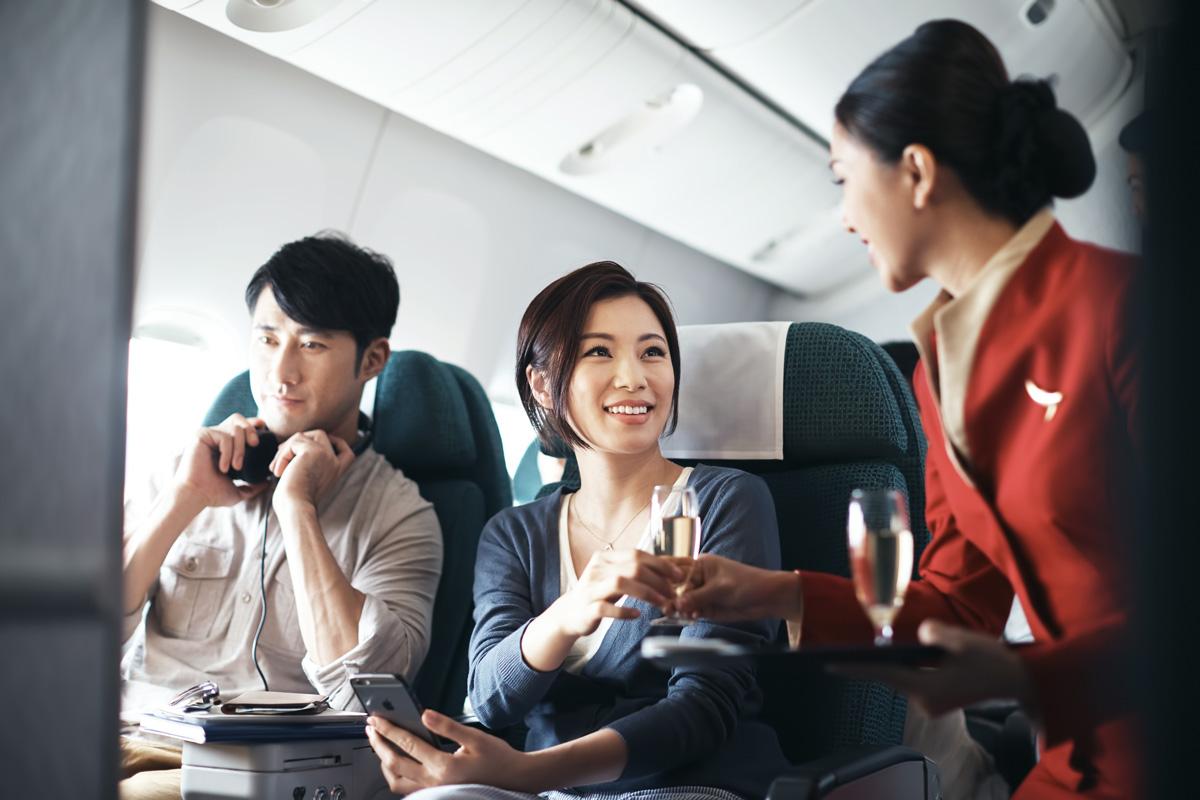 cathay pacific premium economy