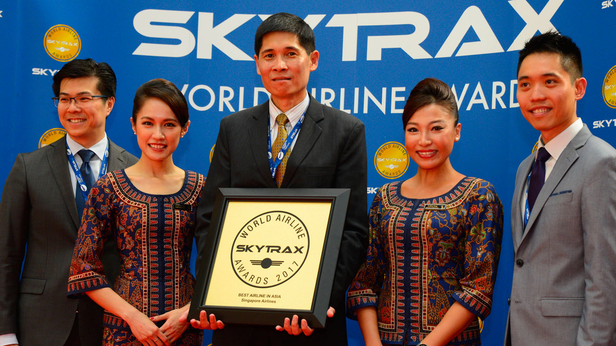 singapore airlines named best airline in asia