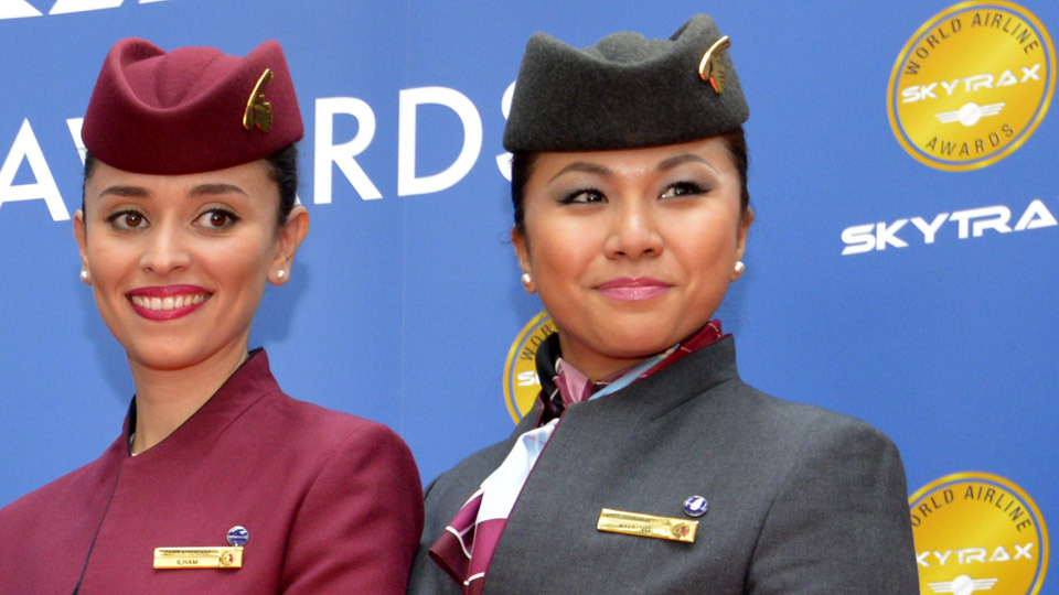 qatar airways cabin staff