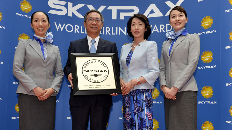 ana all nippon airways at 2015 awards