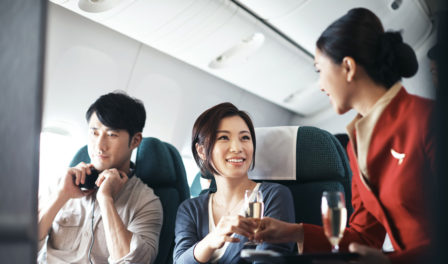 cathay pacific cabin service