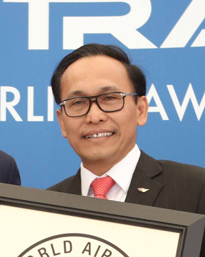 ceo of garuda indonesia