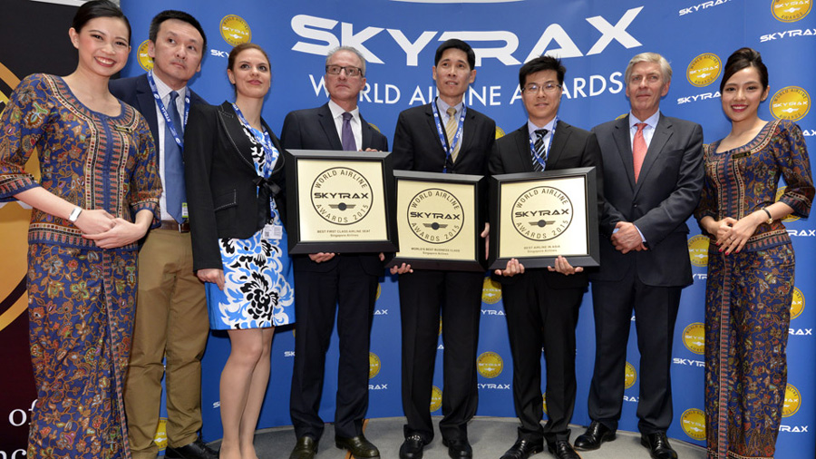 singapore airlines collect 2015 awards