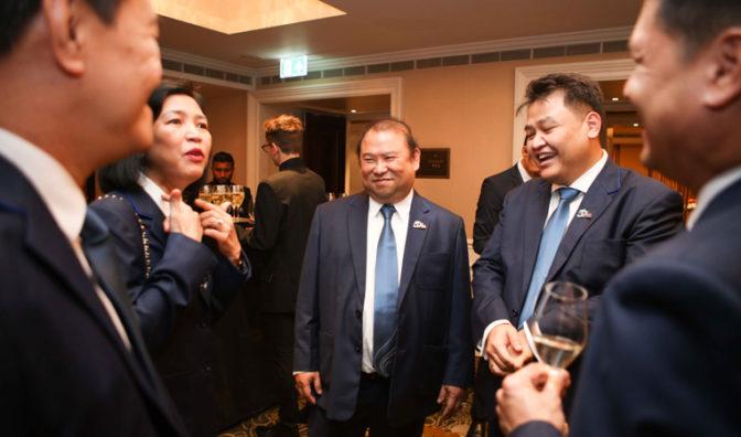mr puttipong prasarttong-osoth president of bangkok airways