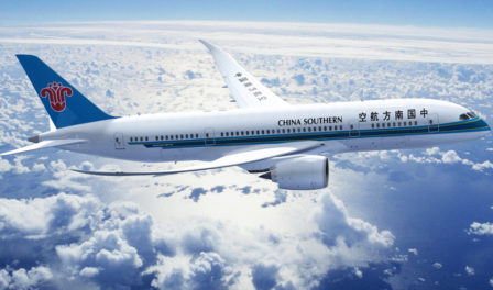 china southern airlines aircraft