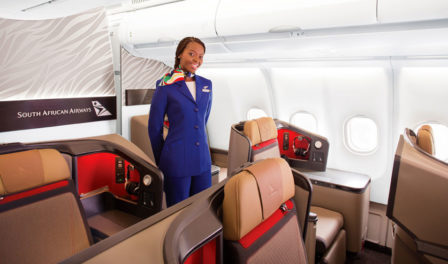 south african airways business class cabin crew