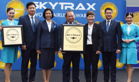 bangkok airways worlds best regional airline