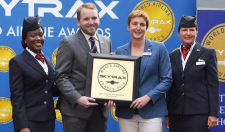 british airways best airline staff europe