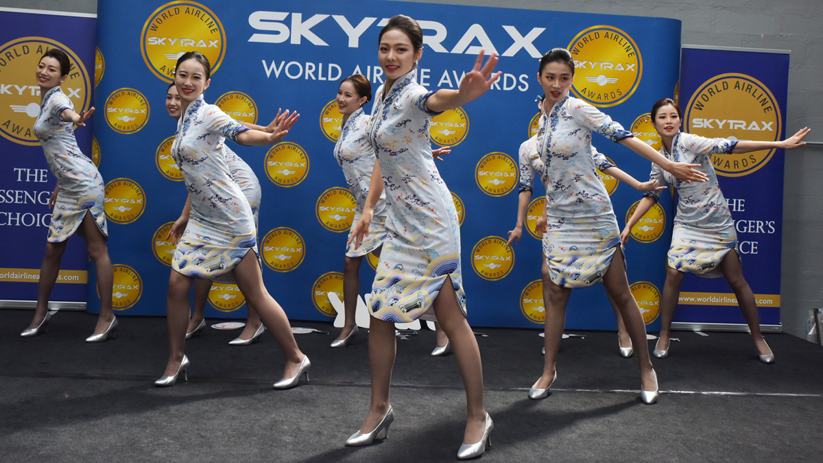 hainan airlines cabin crew