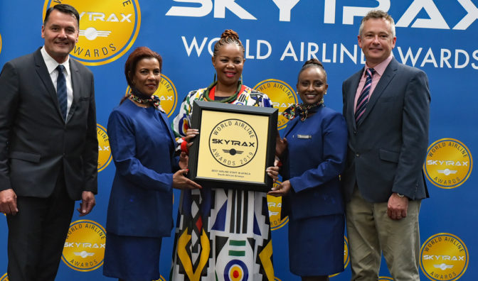 south african airways best airline staff africa