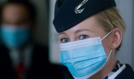 british airways mask wearing